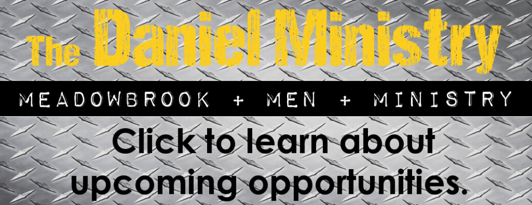The Daniel Ministry - Upcoming Opportunities